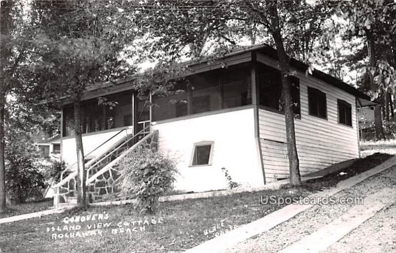 Canover's Island View Cottage Rockaway Beach MO Unused