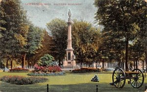 Soldiers' Monument in Lawrence, Massachusetts
