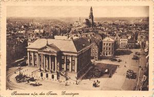 Netherlands Groningen Panorama v/a den Toren aerial view