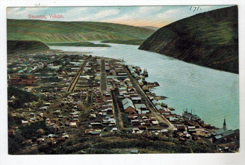 1504   Aerial View  of   Yukon Dawson