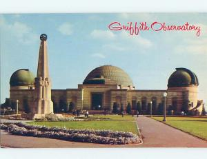 Unused Pre-1980 GRIFFITH OBSERVATORY Los Angeles California CA hn2669