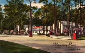 Virginia Accomac Whispering Pines Motel