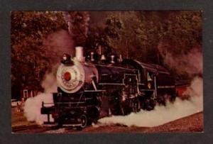 WV Buffalo Creek & Gauley RR Train DUNDON WEST VIRGINIA