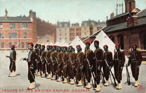 Ghana Gold Coast Troops of the British Empire Houssas Postcard