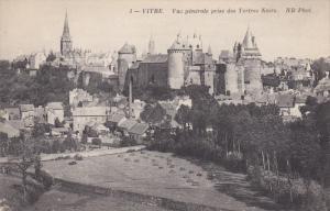 VITRE, Ille et Vilane, France; Vue generale prise des Tertres Noirs, 00-10s