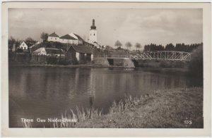 Austria Niederdonau Lower Danube Thaya 1939 Postcard
