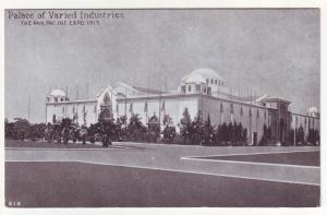 P364 JL, 1915 postcard panama pacific expo san fran ca palace industries