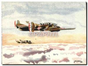Old Postcard Jet Aviation Command SNCASO 175 hunting and recognition
