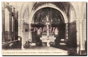 Postcard Old Organ L & # 39abbaye ND d ??& # & # 39Aiguebelle The abbey 39egl...