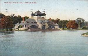 Michigan Detroit Pavilion Belle Isle 1908