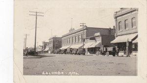 RP: LACOMBE , Alberta , Canada , 1935 ; Main Street