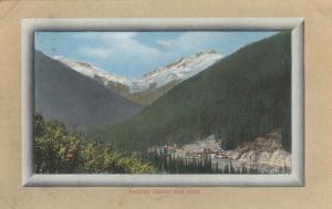 GLACIER NATIONAL PARK, British Columbia, Canada, 1911; Asulkan Glacier & Hotel