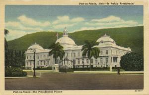 haiti, PORT-AU-PRINCE, Le Palais Presidentiel (1940s)