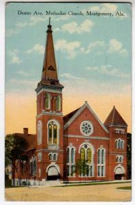 Dexter Ave. Methodist Church, Montgomery AL