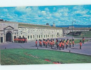 Pre-1980 TOWN VIEW SCENE Quebec City QC p9968
