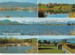 B109956 Switzerland Pfaffikon Seegraben, Auslikon Romerkastell Glarneralpen