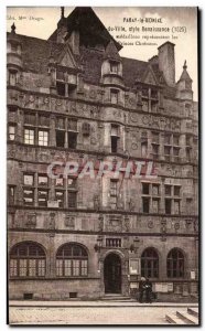 Old Postcard Paray Le Monial The Renaissance style medallions represent the C...
