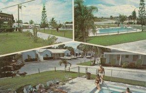 FORT PIERCE, Florida, 50-60s ; Farrell's Motel, Swimming Pool