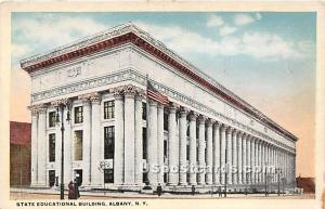 State Educational Building Albany NY Unused