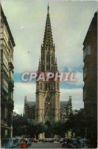 Postcard Modern San Sebastian La Cathedrale
