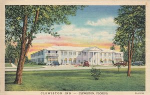 Florida Clewiston The Clewiston Inn Curteich sk1472a