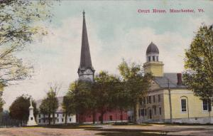 MANCHESTER, Vermont, 1900-10s; Court House