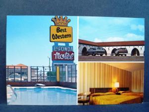 Postcard KS Liberal Lundy's Best Western LaFonda Motel & Restaurant