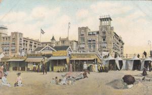 SCHEVENINGEN, Netherlands, 00-10s, Shops along beach Limonade Tent