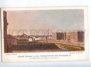 224940 RUSSIA BENOIS PETERSBURG Winter Palace St.Eugenie old