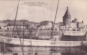 LIBOURNE (Gironde) , France , 00-10s ; La Tour du Grand Port du XIV siecle et...