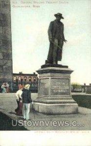 Col William Prescott Statue - Charlestown, Massachusetts MA