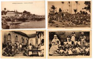 CAMEROUN CAMEROON ETHNIC TYPES indigenes 35 CPA pre-1940