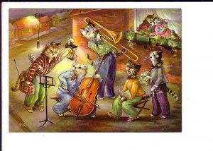 Dressed Cats, Street Musicians, E.K., Kruger, Cello Trumpet, Singing