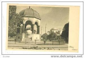 Alman Cesmesi, Istanbul, 20-30s Turkey