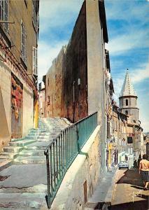 BR14316 Vieille rue et le Clocher des Accoules Marseille   France