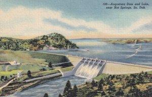 Near HOT SPRINGS, South Dakota, 1930-1940's; Angostura Dam And Lake