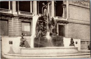 Ferguson Fountain of the Great Lakes, Art Institute of Chicago IL Postcard P17