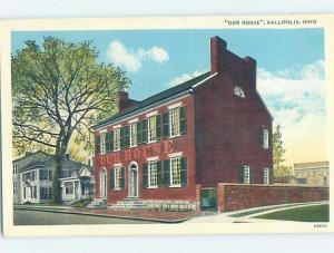 Unused Linen BUILDING Gallipolis Ohio OH hn9273