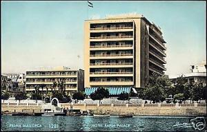 spain, PALMA MALLORCA, Hotel Bahia Palace (1961) RPPC