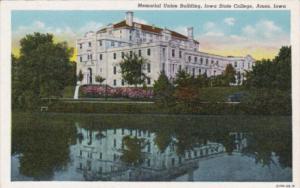 Iowa Ames Memorial Union Building Iowa State College C1939 urteich