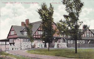 Illinois Peoria Country Club House At Prospect Heights 1909