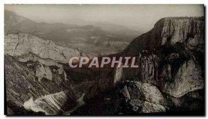 Postcard Modern Moustiers Sainte Marie Gorges Du Verdon