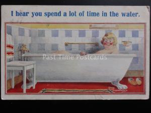 Meadows: Badezimmer THEMA:  I hören You auszugeben a lot of Time im Wasser