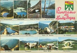 France, Panorama des Hautes Vosges unused Postcard