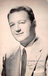 Big Wilson Movie Star Actor Actress Film Star 1956