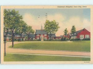 Linen CHILDREN'S HOSPITAL Iowa City IA d5793