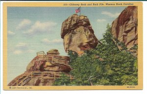 Chimney Rock and Rock Pile, NC