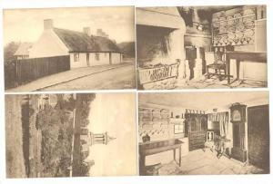 4 PC LOT,Burns Monument & Cottages,Ayr,Scotland,00- 10s