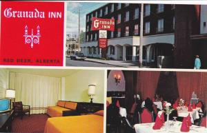 3-views, The Grannada Motor Inn,  Located in the centre of downtown Red Deer,...