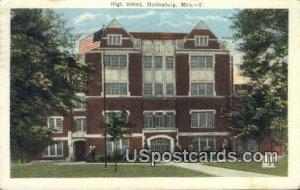High School in Hattiesburg, Mississippi